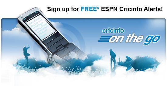 Cricinfo - ESPN Alerts