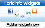 Cricinfo Widgets