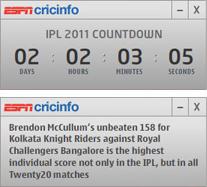 IPL Countdown Clock